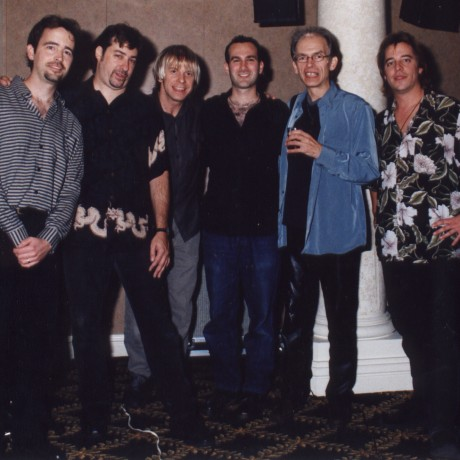 Hanging out with Steve Howe