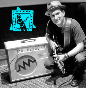 Eric and his ToneVille amp
